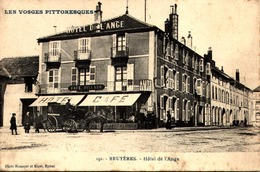 """/ CPA 88] Vosges > Bruyeres """"Bruyères, Hôtel De L'Ange - Bruyeres"""
