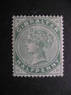 Gibraltar Queen Victoria 1898 Sc#9 MNG - Gibraltar