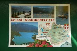 SAVOIE CARTE DEPARTEMENT NON  ECRITE EDITIONS CELLARD BRON  REF S 414061 EB 50661M - France