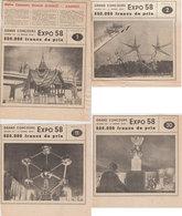 RARE  Expo 58 Bxl   Concours Dernière Heure - Vieux Papiers