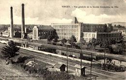 [88] Vosges > Vincey / SOCIETE  COTONNIERE  DE L'EST / FILATURE - Vincey