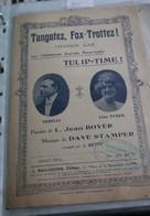 """Partition De """" Tangotez, Fox-Trottez"""" - Scores & Partitions"""