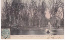 54 Meurthe Et Moselle -  LUNEVILLE - Vue Des Bosquets - Bassin Des Cygnes - 1906 - Luneville