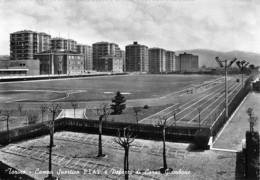 """3801 """" TORINO-CAMPO SPORTIVO FIAT E PALAZZI DI CORSO GIAMBONE  """"  CART. POST. OR. NON SPED. - Stadiums & Sporting Infrastructures"""