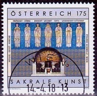 Austria Österreich 2018 Sakrale Kunst (XV) USED / O / GESTEMPELT - 1945-.... 2. Republik