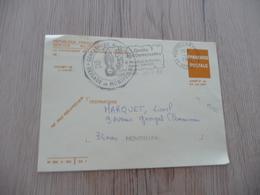 Lettre France Service Militaire  CPFM Care De Franchise Miliaire Gendarmerie Montpellier 1982 - Cartes De Franchise Militaire