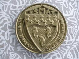 BELLE PLAQUE MEDAILLE METAL SOUS MARIN? ESMAT / DIWEL DIDROUZ MARO PA DENN - Boats