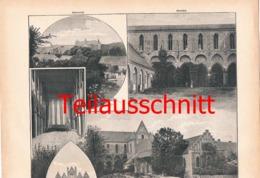 661 Rautenberg Kloster Chorin Bilder Mit Beschreibung  1897 !!! - Unclassified
