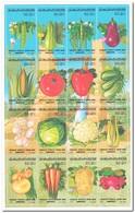 Jamahiriya 1986, Postfris MNH, Vegetables - Libië