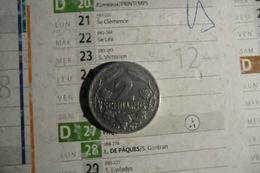 Monnaie D'Autriche -2 Schillings En Aluminium 1947 En T T B - - Austria
