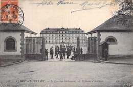 MILITARIA ( Casernes ) 63 - CLERMONT FERRAND Caserne - QUARTIER GRIBEAUVAL ( 16° Régiment Artillerie ) CPA Puy Dôme - Barracks