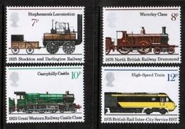 GREAT BRITAIN  Scott # 749-52* VF MINT LH (Stamp Scan # 506) - 1952-.... (Elizabeth II)