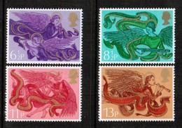 GREAT BRITAIN  Scott # 758-61* VF MINT LH (Stamp Scan # 506) - 1952-.... (Elizabeth II)
