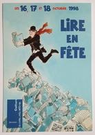 CARTE POSTALE - TARDI - LIRE EN FÊTE - 1998 - REPRODUCTION DE L'AFFICHE - Tardi