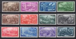 1948 -  Italia - Italy - - Unif.  580/591 - LH - (C17647.21.) - 6. 1946-.. Repubblica