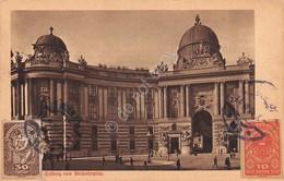 Cartolina Wien Michaelerplatz 1920 Francobolli 30 E 10 Heller - Cartoline