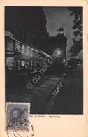 Cartolina Wien Bei Nacht Opernring 1919 Stamp - Cartoline