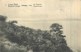 CONGO BELGE  Katanga Toa  Lac Tanganika  Entier  Postal Cachet Ouvert 22 2 Scans - Belgian Congo - Other