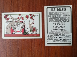 RAY LAMBERT / CHROMO / LA LECTURE / LES DIASES - Old Paper