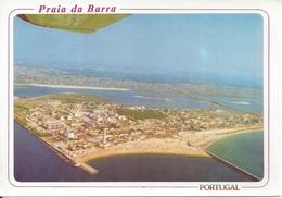 CPM   Portugal  Aveiro  Vue Aérien De La Plage Barra (fihavo) - Aveiro