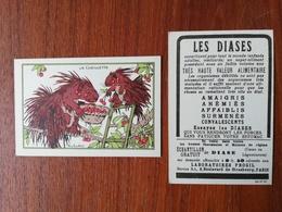 RAY LAMBERT / CHROMO / LA CUEILLETTE / LES DIASES - Old Paper