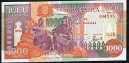 SOMALIA P37b 1000 SHILLINGS 1996 UNC. - Somalia