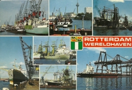 NEDERLAND  PAESI BASSI  OLANDA  ROTTERDAM   Wereldhaven  Schepen  Ships  Navi - Rotterdam