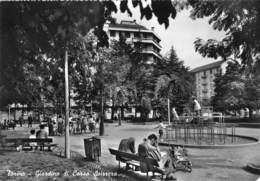 "3809 "" TORINO-GIARDINO DI CORSO SVIZZERA ""ANIMATA CART. POST. OR. NON SPED. - Parcs & Jardins"