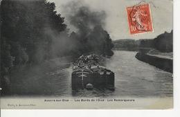 Auvers Sur Oise Les Bords De L'oise Les Remorqueurs - Auvers Sur Oise