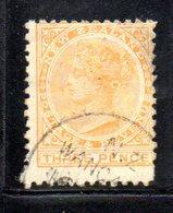 APR1054 - NEW NUOVA ZELANDA 1882 , Vittoria Yvert  N. 62  Usato Postage Revenue. NZ/star - 1855-1907 Colonia Britannica