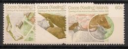 Cocos - 1981 - N°Yv. 65 à 67 - Centre De Quarantaine - Neuf Luxe ** / MNH / Postfrisch - Cocos (Keeling) Islands