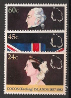 Cocos - 1982 - N°Yv. 81 à 83 - Annexion Britannique - Neuf Luxe ** / MNH / Postfrisch - Cocos (Keeling) Islands