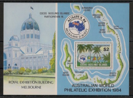 Cocos - 1984 - Bloc Feuillet N°Yv. 3 - Ausipex  - Neuf Luxe ** / MNH / Postfrisch - Cocos (Keeling) Islands