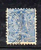 APR1058 - NEW NUOVA ZELANDA 1891 , Vittoria Yvert  N. 68  Usato . NZ/star - 1855-1907 Colonia Britannica