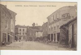 Loriol Route Nationale Quartier Hotel Blanc - Autres Communes