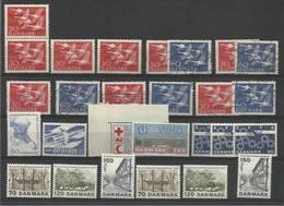 1956/75 Danimarca Denmark Danmark 27 Valori MNH**/USED - Nuovi