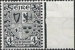 IRELAND 1922 Arms Of Ireland - 4d - Blue MNH - Nuovi