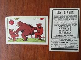 RAY LAMBERT / CHROMO / LA DANSE DES OURS / LES DIASES - Old Paper