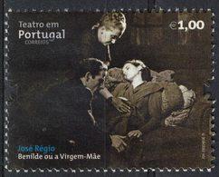 Portugal 2011 Oblitéré Used Théâtre Pièce Benilde Ou A Virgem Mãe De José Régio SU - 1910 - ... Repubblica