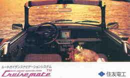 VOITURE - AUTO - AUTOMOBILE - CAR - TélécarteJapon - Airplanes
