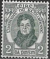 IRELAND 1929 Centenary Of Catholic Emancipation - 2d  Daniel O'Connell MNH - Nuovi