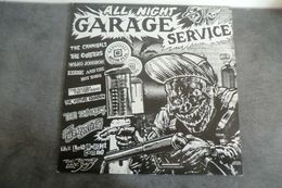 Disque - All Night Garage Service - Waterfront Records WF 029 - 1986 - - Rock