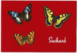 Album Chromos Images Vignettes Chocolat Suchard - Papillons - Complet 60 Vignettes - 8 Scans - Suchard