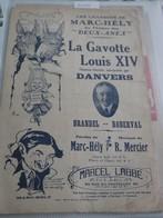 """Partition De """" La Gavotte De Louis XIV """" - Scores & Partitions"""