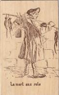 Fou-8---------------carte En Bois---la Mort Aux Rats - Otros
