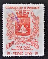CENTENAIRE DE NUEVA SAN SALVADOR 1956 - OBLITERE - YT PA 162 - MI 793 - Salvador