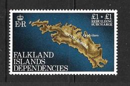 FALKLAND-DEPENDANCES 1982 SURTAXE POUR LA RECONSTRUCTION  YVERT N°115  NEUF MNH** - Géorgie Du Sud