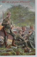 Motiv-Militär   .....alte  Karte    (ke1823   ) Siehe Scan - Militaria