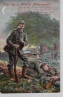 Motiv-Militär   .....alte  Karte    (ke1833   ) Siehe Scan - Militaria