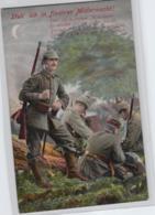 Motiv-Militär   .....alte  Karte    (ke1835   ) Siehe Scan - Militaria